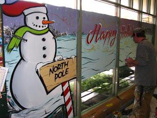 christmas xmas windows