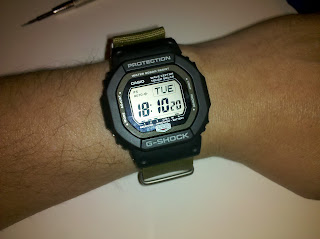 how to change tome on a casio 3198 watch