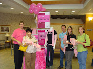 Belk donated many gift bags and promoted their Susan G. Koman appliances and accessories.