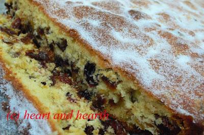Heart and Hearth: Fruit Cake Bars