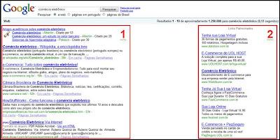 resultados google - otimização para busca orgânica