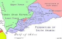 خارطة اتحاد الجنوب العربي