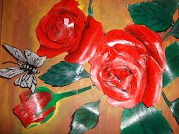 Rosas en 3D