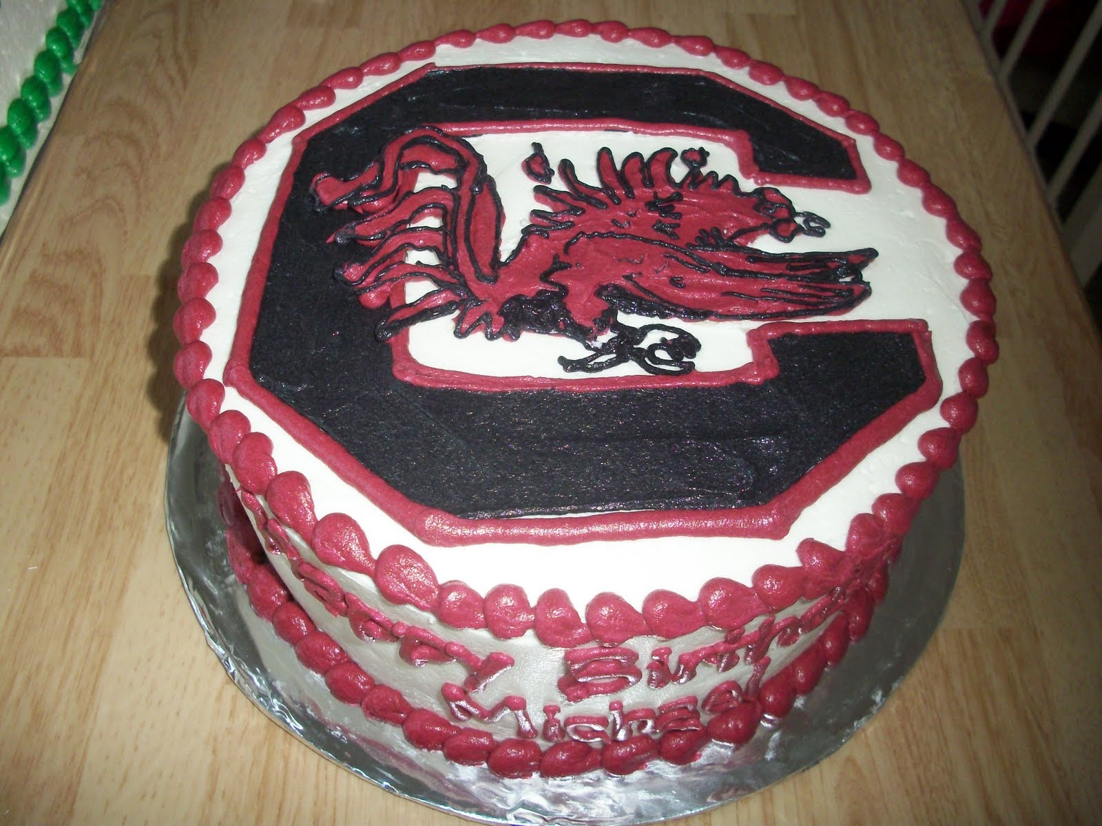 Stephanies Cakes Michaels Gamecock