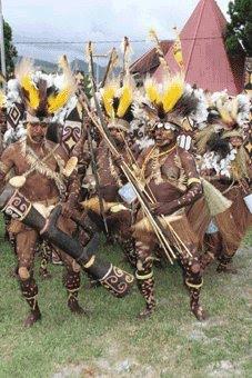 Tarian Suku Asmat (Tari Tobe)