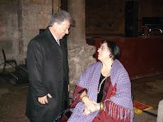 Με την Μαρία Φαραντούρη