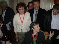Με την κα.Ελένη Γλύκατζη-Αρβελέρ και τη σύζυγο μου κα.Μαργαρίτα Μπίτση στην Κωνσταντινούπολη