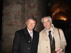 Με τον καθηγητή Χρήστο Γιανναρά στην Αγία Ειρήνη στην Κωνσταντινούπολη