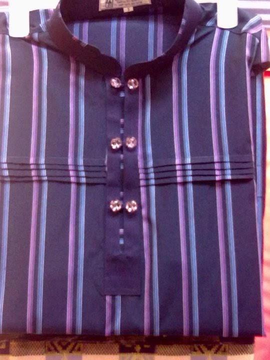 baju melayu matching kain jeans dan kain baju melayu