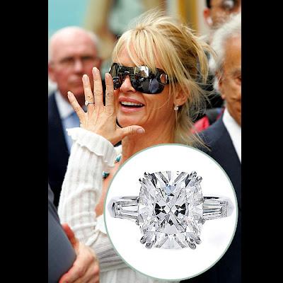 Nicolette Sheridan diamond engagement rings