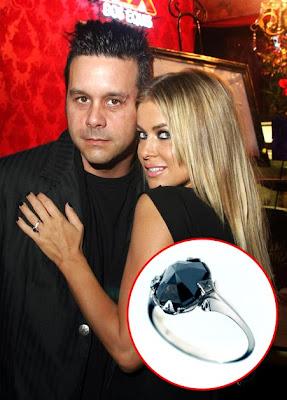 Carmen Electra engagement ring