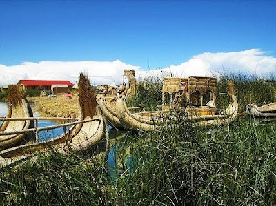 Uros Floating Islands Pictures