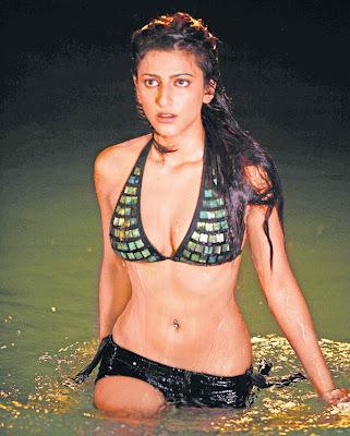 Shruti Hassan Bikini Swimsuit Pictures