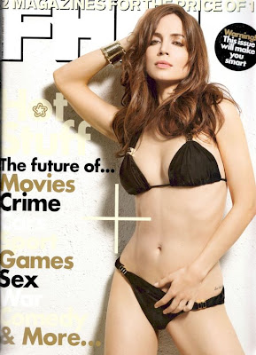 Eliza Dushku FHM UK Magazine Cover Images