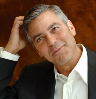 Man Strips for George Clooney Video