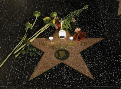 Patrick swayze's funeral arrangements pictures