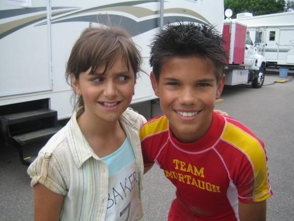 Taylor Lautner y Alyson Stoner