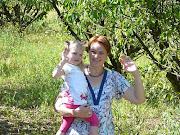 Ik met Selina vakantie 2009