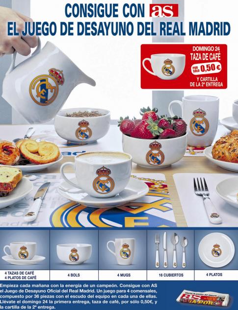 Promociones y colecciones prensa librer a papeler a for Juego de real madrid