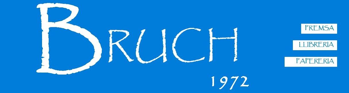 promociones y colecciones - prensa - librería - papelería BRUCH 1972
