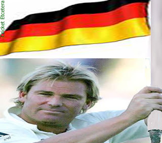 shane warne playing cricket for germany?