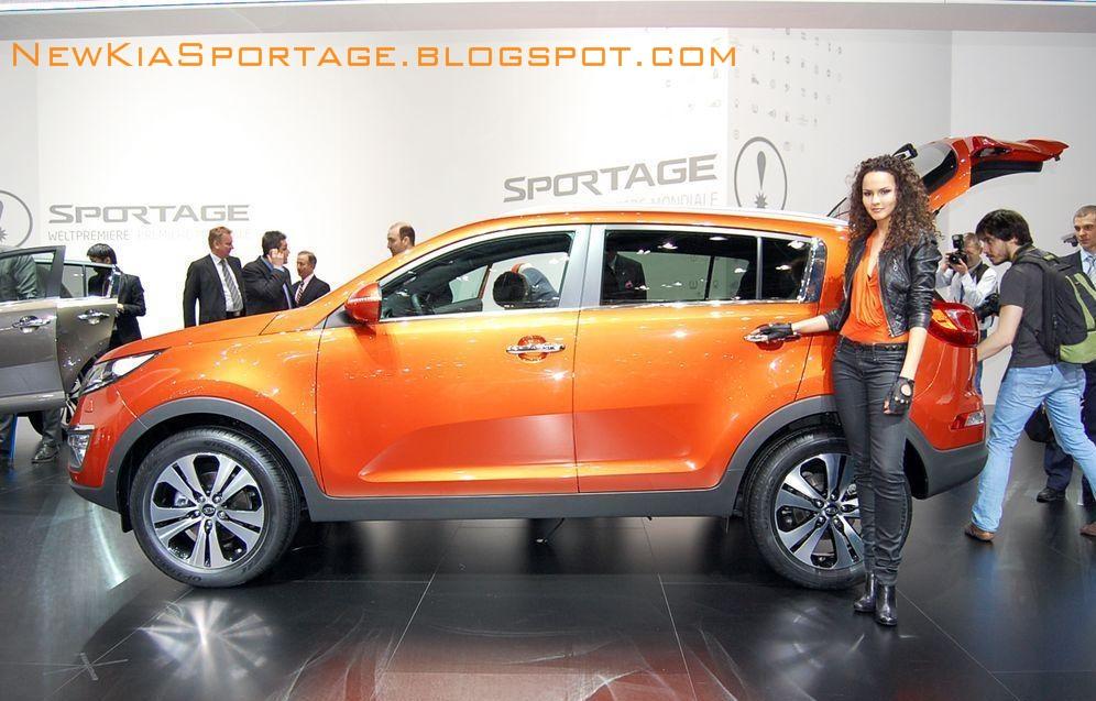 Kia Sportage : Fotografias del Salón de Ginebra 2010