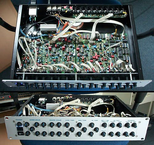 Matrixsynth 9090 roland tr 909 diy rack clone for Diy tr