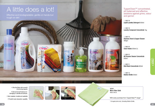 TupperClean Your Household Cleaner (Concentrated with pH balanced)