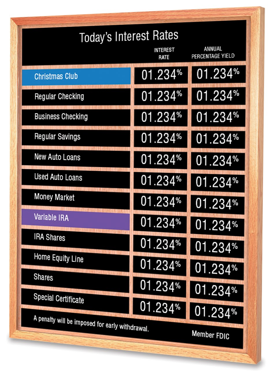 Marino Custom Display - Display Frames, Poster Frames, Rate Boards ...