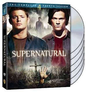 SPN SE4 DVD 0002 779327 Supernatural  4ª Temporada completa  Dublado  RMVB