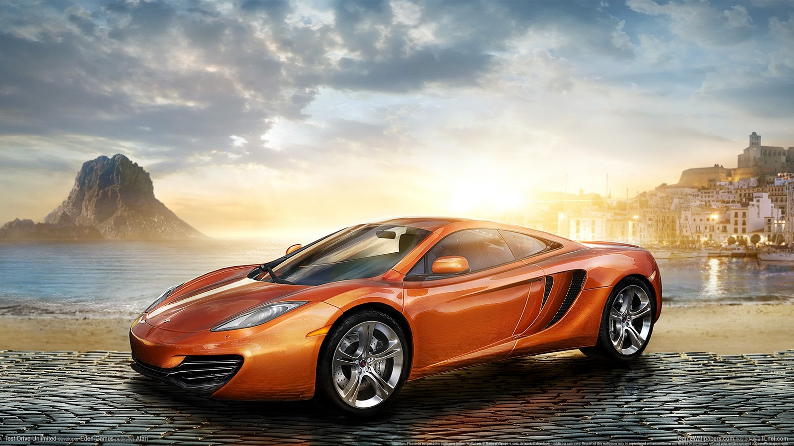 Test Drive Unlimited 2 HD desktop wallpaper High