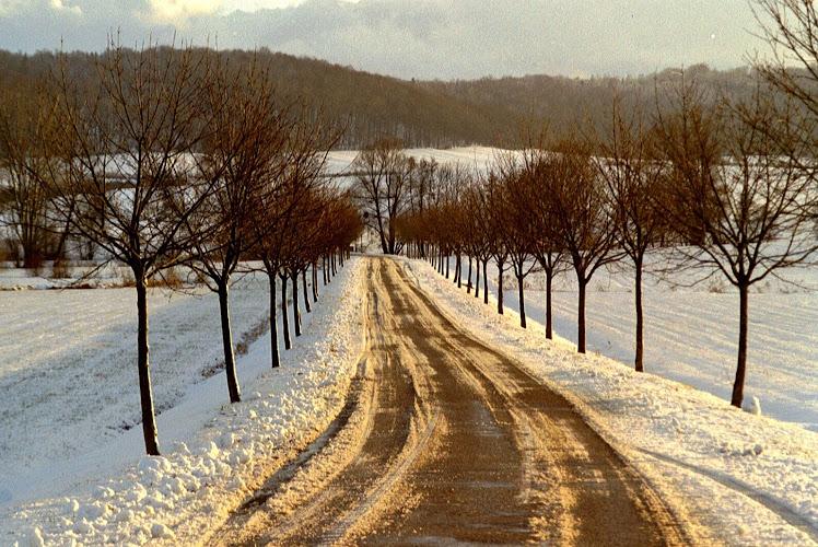 dedeling sous la neige