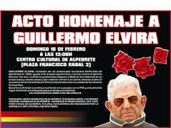 Cartel Guillermo Elvira ( Censurado por Marisol Casado )