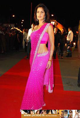 *+*+*+*SaRi ColleCtioN*+*+*+* Katrina_Kaif_in_dark_pink_saree%2B(1)%2Bcopy