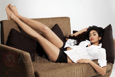 Jiah Khan's Photo Shoots for Maxim India