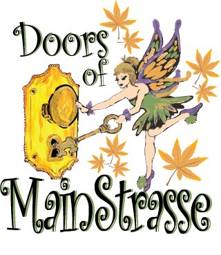 The Doors of MainStrasse Village Celebrate Christmas