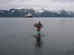 Polar Bear Dip Club, Deception Island