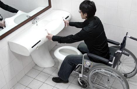Small Handicap Bathroom Designs