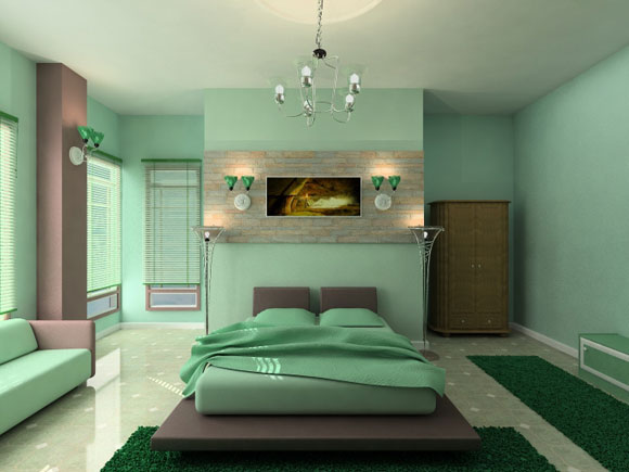 Soft Green Master Bedroom Decor
