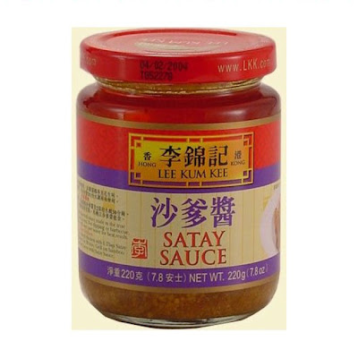 Chinese Satay Sauce With satay sauce.