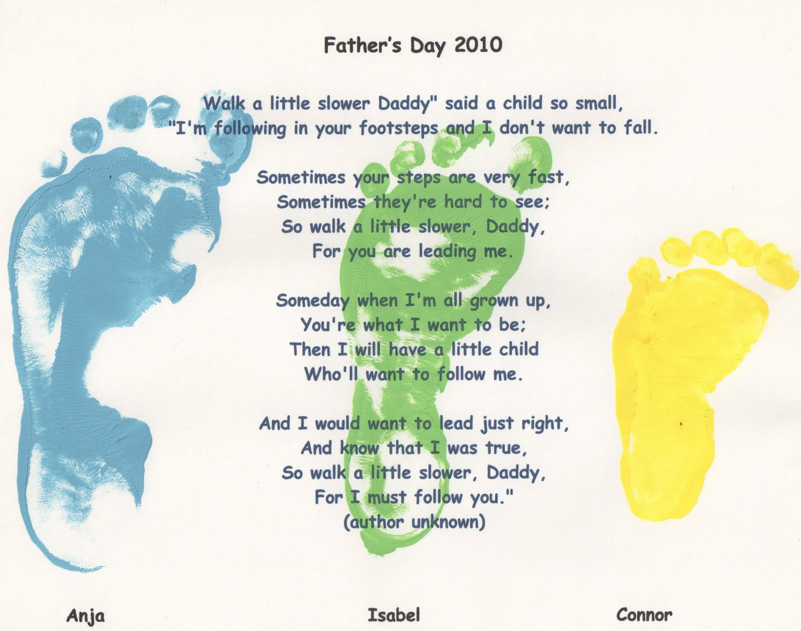 fathers day poems daddy's hands