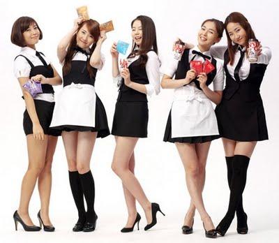 Wonder Girls memiliki akun resmi di MySpace Music[4] Dari laman