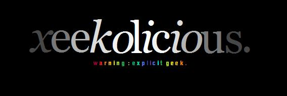 xeeekolicious.