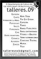 Sec. Cultura: Talleres 09