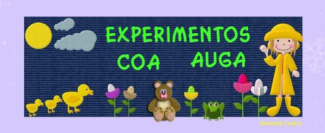 EXPERIMENTOS COA AUGA