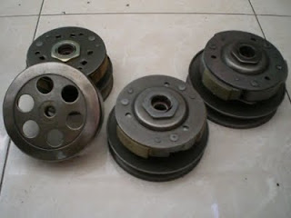 Pully motor matic