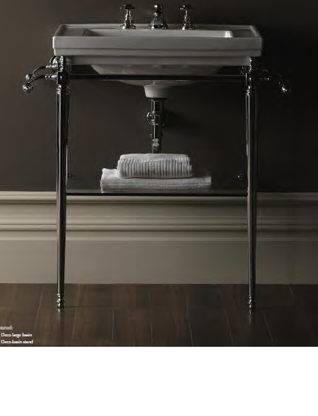 This Basin With Chrome Legs Is Very Smart. And The Glass Shelf Underneath  Looks Very Useful.