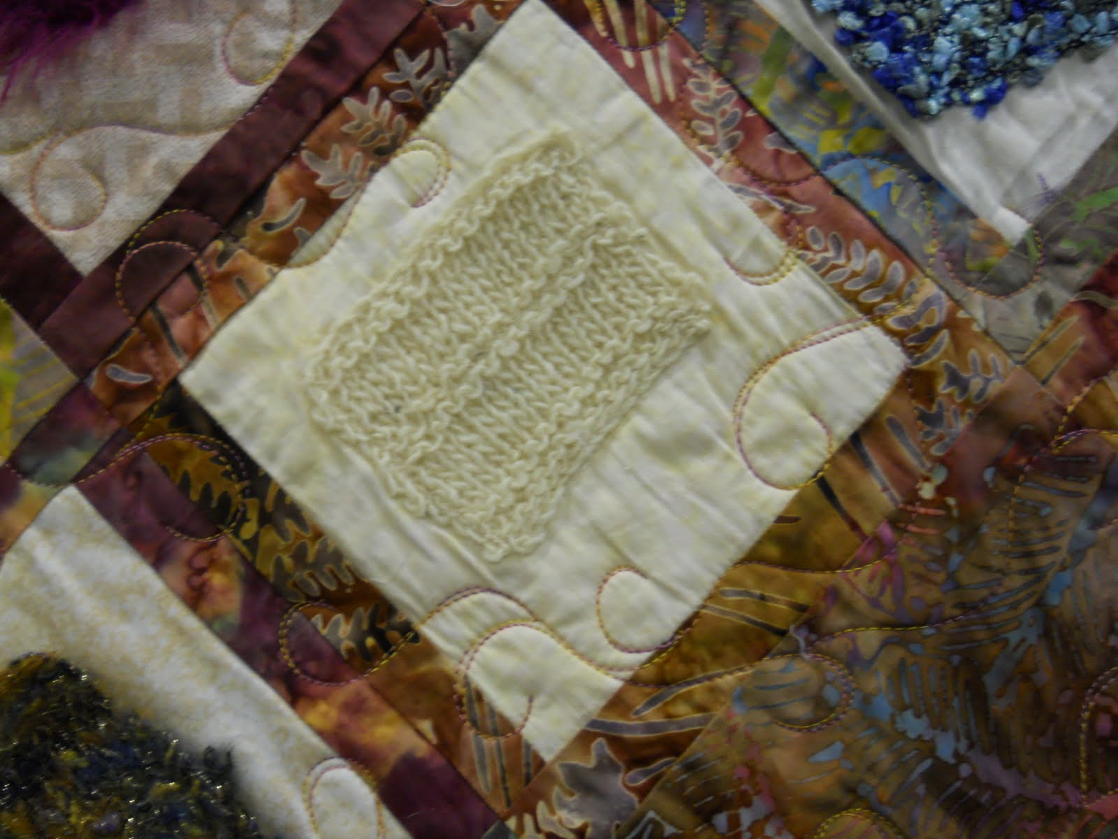 Knitted Quilt Block Patterns : Celtic Heart Knitting and Quilting: Quilters Unlimited Quilt Show 2010, ...