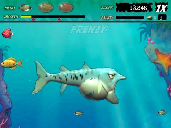 Feeding frenzy 2 azinka for Fish eat fish game