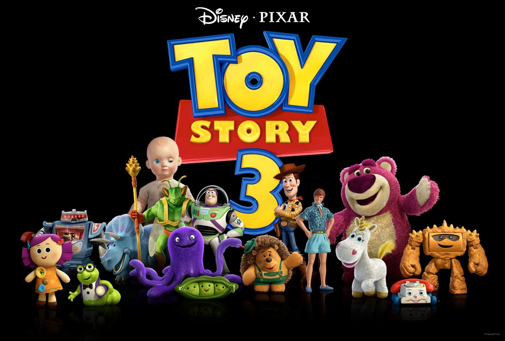 The Mad Prophet: TOY STORY 3 WEEK- The New Characters